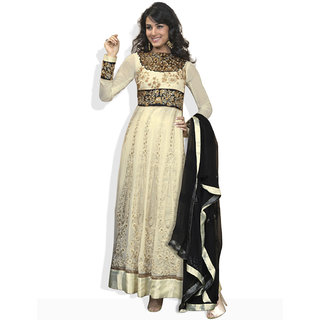 HIBA Anarkali Style Ready To Stitch With Embroidery