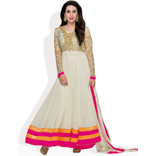 Triveni Anarkali Style Ready To Stitch Suit