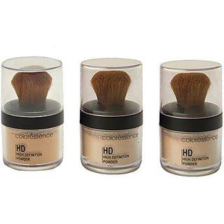 Coloressence High Defination Powder Foundation(SoftBeige, IvoryBeige,Dusky)