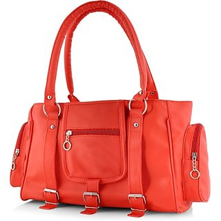 Women Shoulder Handbag Red