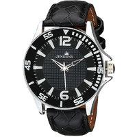 Jenkiins Scorpio Black Strap Mens Watch