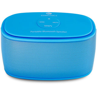 Zebronics bluetooth portable speaker galaxy blue
