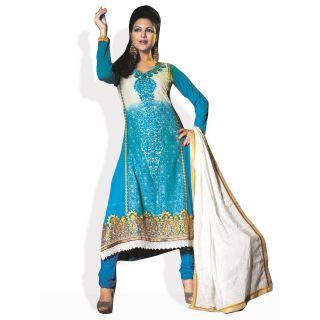 Triveni Style Diva Ready To Stitch Suit