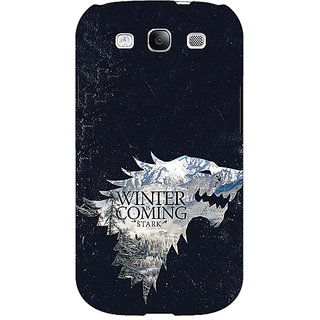 Absinthe Game Of Thrones GOT House Stark  Back Cover Case For Samsung Galaxy S3