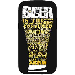 Absinthe Beer Quote Back Cover Case For Samsung Galaxy Grand 2