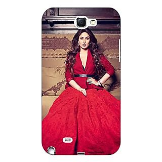 Absinthe Bollywood Superstar Kareena Kapoor Back Cover Case For Samsung Galaxy Note 2 N7100