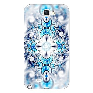 Absinthe Abstract Design Pattern Back Cover Case For Samsung Galaxy Note 2 N7100