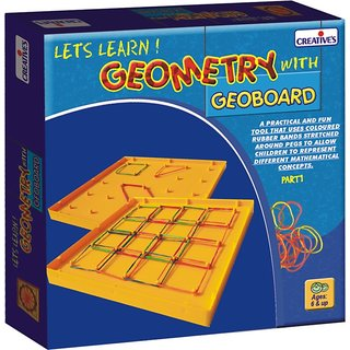 Geometry with Geoboard
