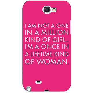 Absinthe Quote Back Cover Case For Samsung Galaxy Note 2 N7100