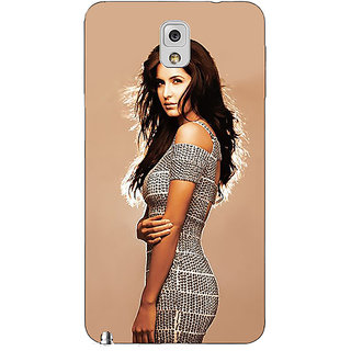 Absinthe Bollywood Superstar Katrina Kaif Back Cover Case For Samsung Galaxy Note 3 N9000