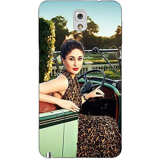 Absinthe Bollywood Superstar Kareena Kapoor Back Cover Case For Samsung Galaxy Note 3 N9000
