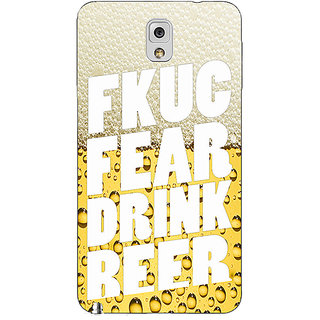 Absinthe Beer Quote Back Cover Case For Samsung Galaxy Note 3 N9000