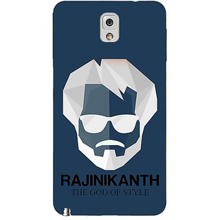 Absinthe Rajni Rajanikant Back Cover Case For Samsung Galaxy Note 3 N9000