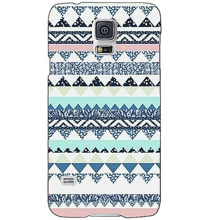 Absinthe Aztec Girly Tribal Back Cover Case For Samsung Galaxy S5