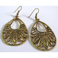 Antic tilak shape earring