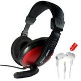 Quantum 889 Headphone With Mic  Quantum 555 Earphone