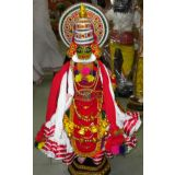 Kerala Traditional Kathakali Doll ( Miniature Of Kathakali)