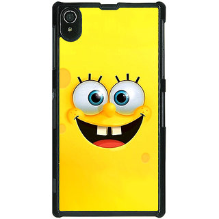 Absinthe Spongebob Back Cover Case For Sony Xperia Z2