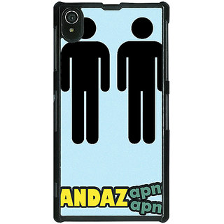 Absinthe Bollywood Superstar Andaz Apna Apna Back Cover Case For Sony Xperia Z2