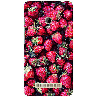 Absinthe Strawberry Pattern Back Cover Case For Asus Zenfone 5