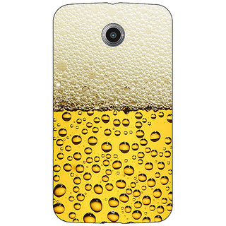 Absinthe Beer Back Cover Case For Google Nexus 6