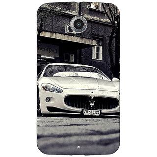 Absinthe Super Car Aston Martin Back Cover Case For Google Nexus 6