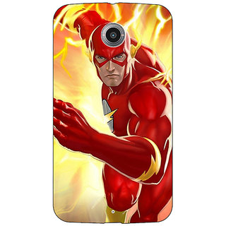 Absinthe Superheroes Flash Back Cover Case For Google Nexus 6