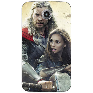 Absinthe Thor  Back Cover Case For Google Nexus 6