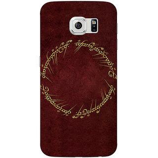 Absinthe LOTR Hobbit  Back Cover Case For Samsung S6