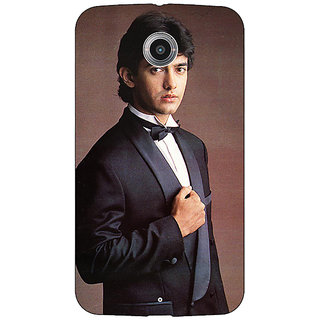 Absinthe Bollywood Superstar Aamir Khan Back Cover Case For Google Nexus 6