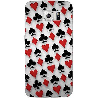 Absinthe Club Spade Diamond Heart  Back Cover Case For Samsung S6