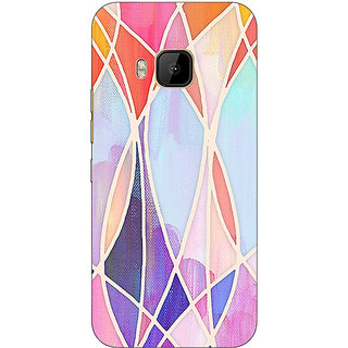 Absinthe Designer Geometry Pattern Back Cover Case For HTC M9