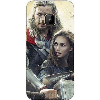 Absinthe Thor  Back Cover Case For HTC M9