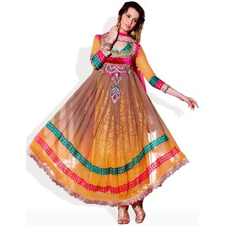AARYA Net Anarkali Style Ready To Stitch Suit