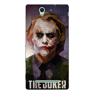 Absinthe Villain Joker Back Cover Case For Sony Xperia C3