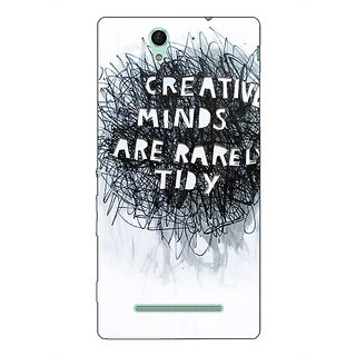 Absinthe Quote Back Cover Case For Sony Xperia C3