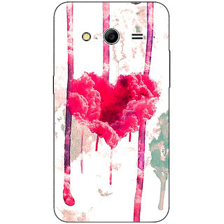 Absinthe Love Heart  Back Cover Case For Samsung Core 2