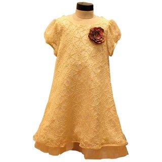 Kinder Closet  Glittery Net Frock Dress