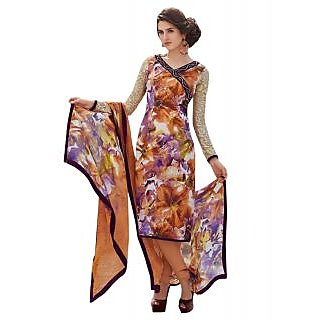 Sinina Womens Crepe Dress Material