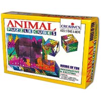 Animal Puzzle Cubes