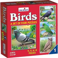 Birds Activity Puzzle - A Set Of 4 Puzzles