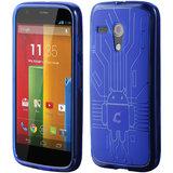 Motorola Moto G Cruzerlite Bugdroid Circuit Case for Motorola Moto G - Blue