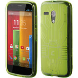 Motorola Moto G Cruzerlite Bugdroid Circuit Case for Motorola Moto G -Green