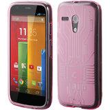 Motorola Moto G Cruzerlite Bugdroid Circuit Case for Motorola Moto G - Pink