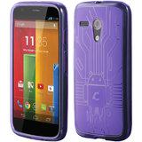 Motorola Moto G Cruzerlite Bugdroid Circuit Case for Motorola Moto G - Purple