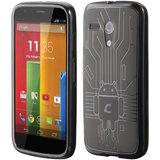 Motorola Moto G Cruzerlite Bugdroid Circuit Case For Motorola Moto G - Smoke