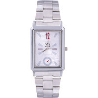 THE KEEPER ANALOG WRIST WATCH FOR MEN-WHITE