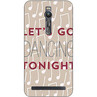 Absinthe Dancing Quote Back Cover Case For Asus Zenfone 2 ZE550 ML