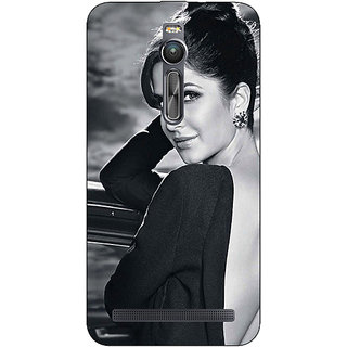 Absinthe Bollywood Superstar Katrina Kaif Back Cover Case For Asus Zenfone 2 ZE550 ML