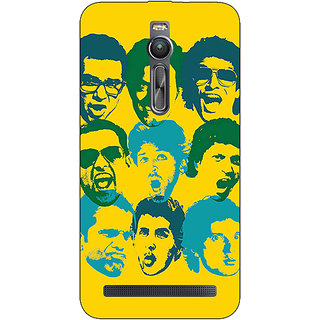 Absinthe Bollywood Superstar ZNMD Back Cover Case For Asus Zenfone 2 ZE550 ML